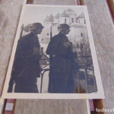 Postales: TARJETA POSTAL ORIGINAL DE LA DIVISION AZUL ESCUCHA FRENTE AL ENEMIGO. Lote 87214328