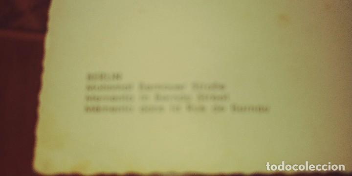 Postales: Antigua Postal de berlin recuerdo en la calle de berna s/c - Foto 2 - 90713505