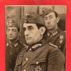 Postales: DIVISIÓN AZUL. GENERAL MUÑOZ GRANDES. Lote 95872027