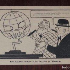 Postales: POSTAL SATIRICO POLITICO MILITAR DE LA II GUERRA MUNDIAL, CARICATURAS DE LA GUERRA, NO TIENE MARCA E. Lote 96133911