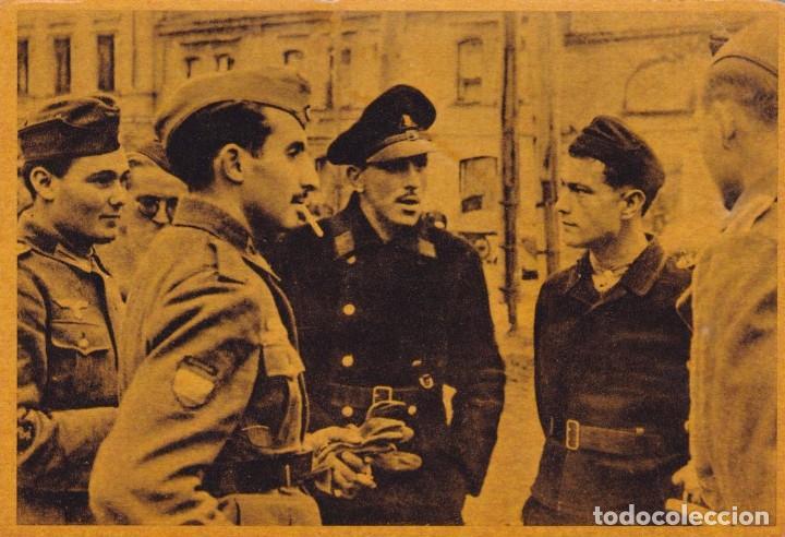 CRUZADA EUROPEA CONTRA EL BOLCHEVISMO (Postales - Postales Temáticas - II Guerra Mundial y División Azul)