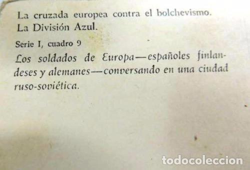 Postales: CRUZADA EUROPEA CONTRA EL BOLCHEVISMO - Foto 2 - 97622115