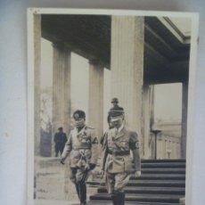 Postales: POSTAL DE LA ALEMANIA NAZI : VISITA DEL DUCE A BERLIN. RECUERDO DE LA DIVISION AZUL. Lote 182721393