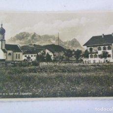 Postales: POSTAL DE ALEMANIA . RECUERDO DE UN COMBATIENTE DE LA DIVISION AZUL. Lote 99323707