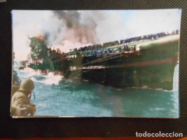 Postales: LOTE DE 31 POSTALES TEMATICAS DE LA II GUERRA MUNDIAL. USA. SIN CIRCULAR - Foto 10 - 99643955