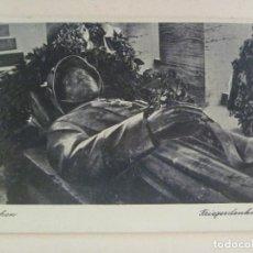 Postales: POSTAL DE ALEMANIA : MONUMENTOS MUERTOS GUERRA MUNDIAL . RECUERDO DE LA DIVISION AZUL. Lote 99660223