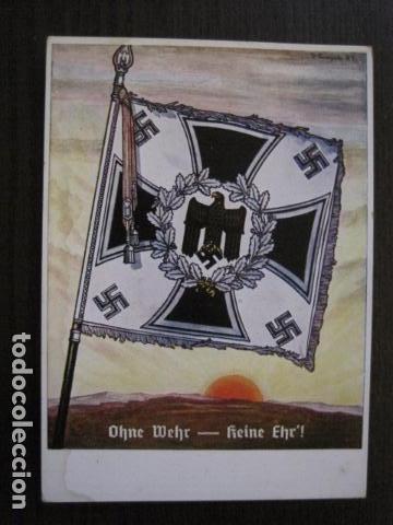 POSTAL SEGUNDA GUERRA MUNDIAL -II GUERRA MUNDIAL -ORIGINAL -VER REVERSO-(50.745) (Postales - Postales Temáticas - II Guerra Mundial y División Azul)
