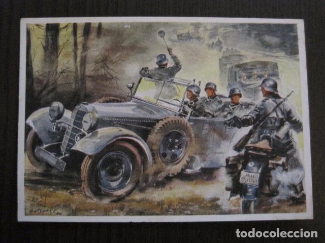 POSTAL SEGUNDA GUERRA MUNDIAL -II GUERRA MUNDIAL -ORIGINAL -VER REVERSO-(50.762) (Postales - Postales Temáticas - II Guerra Mundial y División Azul)