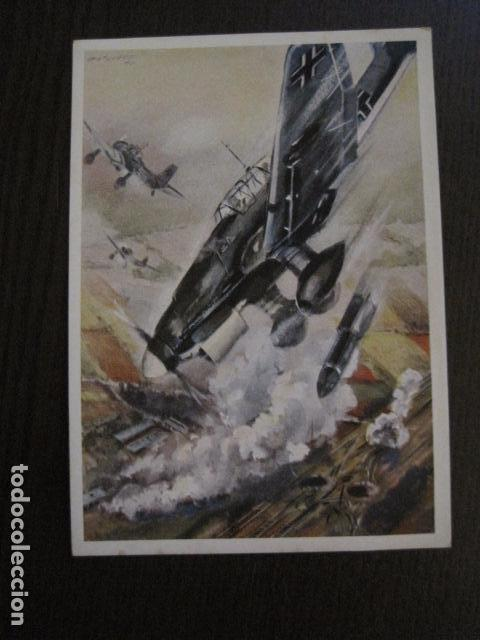 POSTAL SEGUNDA GUERRA MUNDIAL -II GUERRA MUNDIAL -ORIGINAL -VER REVERSO-(50.766) (Postales - Postales Temáticas - II Guerra Mundial y División Azul)