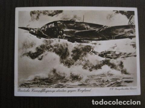 POSTAL SEGUNDA GUERRA MUNDIAL -II GUERRA MUNDIAL -ORIGINAL -VER REVERSO-(50.771) (Postales - Postales Temáticas - II Guerra Mundial y División Azul)