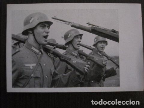 POSTAL SEGUNDA GUERRA MUNDIAL -II GUERRA MUNDIAL -ORIGINAL -VER REVERSO-(50.778) (Postales - Postales Temáticas - II Guerra Mundial y División Azul)