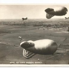 Postales: ROYAL AIR FORCE BALLOON BARRAGE .- VALENTINE'S POST CARD . Lote 102264263