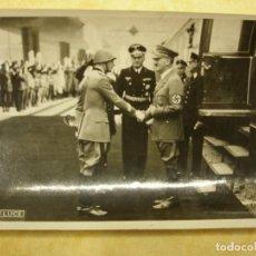 Postales: FOTOGRAFÍA. VISITA DE HITLER A ITALIA. 3 DE MAYO DE 1938. Lote 104084095