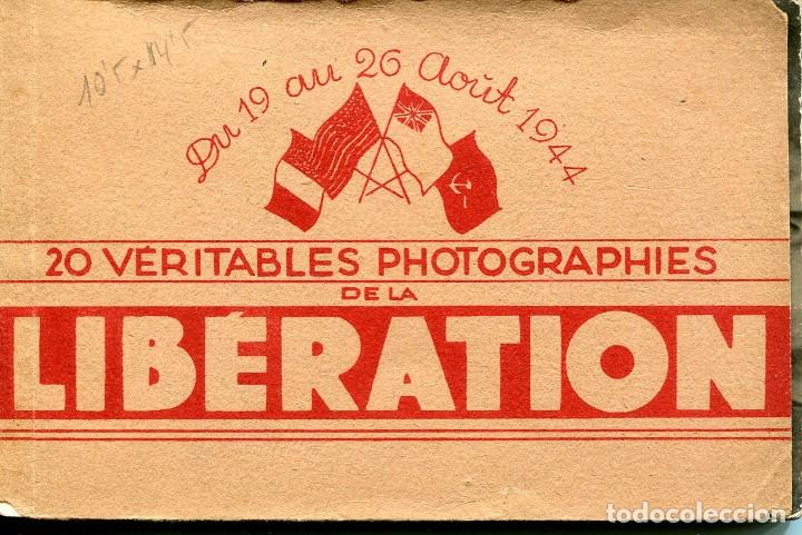 Postales: LIBERACIÓN DE PARÍS- AÑO 1944-DESFILE DE LAS TROPAS AMERICANAS- FOTOGRÁFICA- RARA - Foto 2 - 109691591