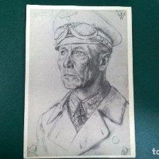Postales: POSTAL GENERAL ROMMEL-WOLFGANG WILLRICH. Lote 112383183