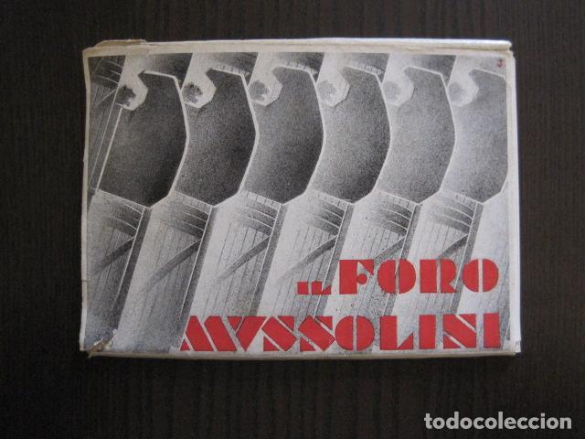 ENVOLTORIO CONTENIENDO 11 POSTALES ORIGINALES ANTIGUAS FORO MUSSOLINI - VER FOTOS - (52.141) (Postales - Postales Temáticas - II Guerra Mundial y División Azul)