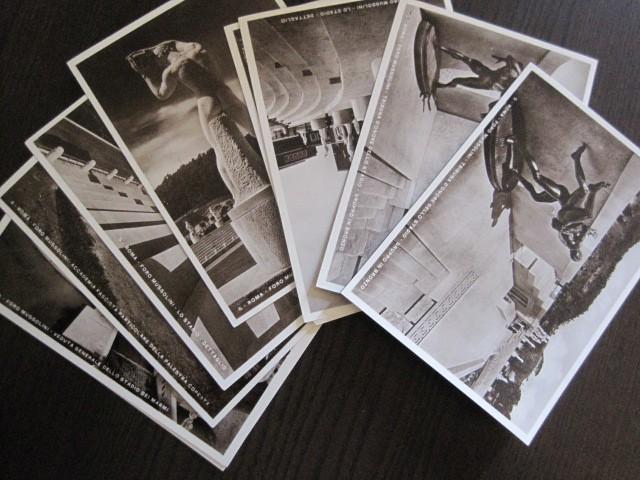 Postales: ENVOLTORIO CONTENIENDO 11 POSTALES ORIGINALES ANTIGUAS FORO MUSSOLINI - VER FOTOS - (52.141) - Foto 6 - 113286303