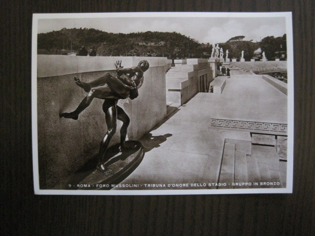 Postales: ENVOLTORIO CONTENIENDO 11 POSTALES ORIGINALES ANTIGUAS FORO MUSSOLINI - VER FOTOS - (52.141) - Foto 7 - 113286303