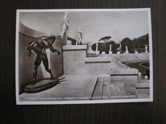 Postales: ENVOLTORIO CONTENIENDO 11 POSTALES ORIGINALES ANTIGUAS FORO MUSSOLINI - VER FOTOS - (52.141) - Foto 9 - 113286303