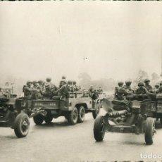 Postales: LIBERACIÓN DE PARÍS-AÑO-1944-ARTILLERIA AMERICANA--FOTOGRÁFICA RARA. Lote 114706631