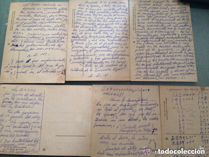 Postales: LOTE ANTIGUAS POSTALES DIVISIÓN AZUL ESPAÑOLA - SEGUNDA GUERRA MUNDIAL - Foto 2 - 122580299