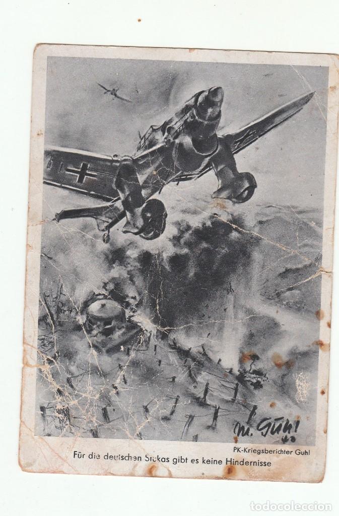 POSTAL ALEMANA DE LA DIVISION AZUL (Postales - Postales Temáticas - II Guerra Mundial y División Azul)