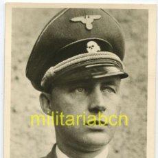 Cartes Postales: ALEMANIA III REICH. POSTAL. PHOTO HOFFMANN DEL SS STURMBANNFÜRER SCHLAMELCHER. RITTERKREUZ.. Lote 125946059
