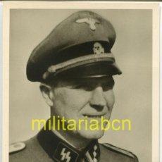 Cartes Postales: ALEMANIA III REICH. POSTAL. PHOTO HOFFMANN. SS HAUPTSTURMFÜHRER VANDIEKEN. RITTERKREUZ.. Lote 125996335