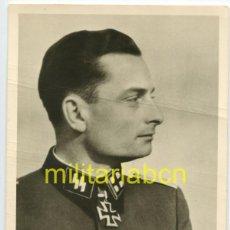 Cartes Postales: ALEMANIA III REICH. POSTAL. PHOTO HOFFMANN. SS OBERSTURMFÜHRER SCHÖNFELDER. RITTERKREUZ.. Lote 125998523