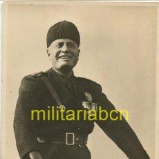 Postales: ITALIA. POSTAL CON LA FOTOGRAFÍA DEL DUCE BENITO MUSSOLINI. 2ª GUERRA MUNDIAL. Lote 126000903