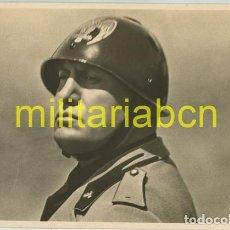 Postales: ITALIA. POSTAL CON LA FOTOGRAFÍA DEL DUCE BENITO MUSSOLINI. 2ª GUERRA MUNDIAL. Lote 126001139