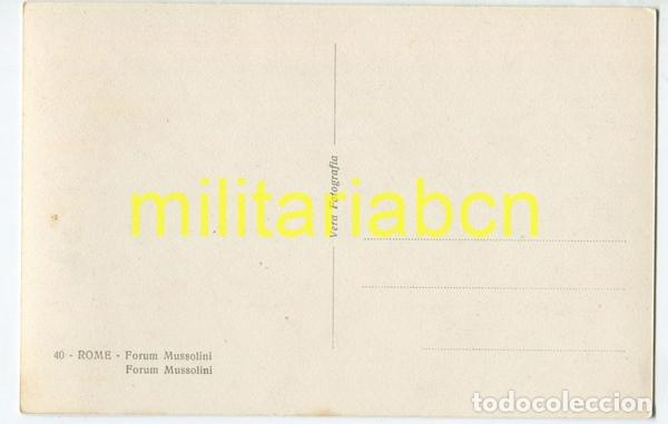 Postales: Italia. Postal del Foro Mussolini. Época Fascista. - Foto 2 - 126001391