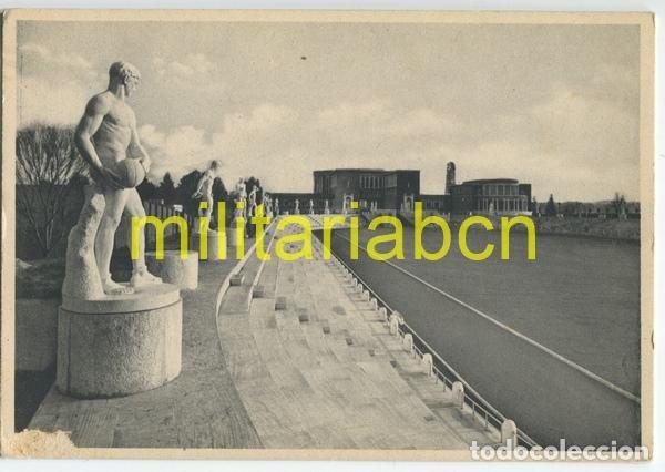 ITALIA. POSTAL DEL FORO MUSSOLINI. ÉPOCA FASCISTA. (Postales - Postales Temáticas - II Guerra Mundial y División Azul)