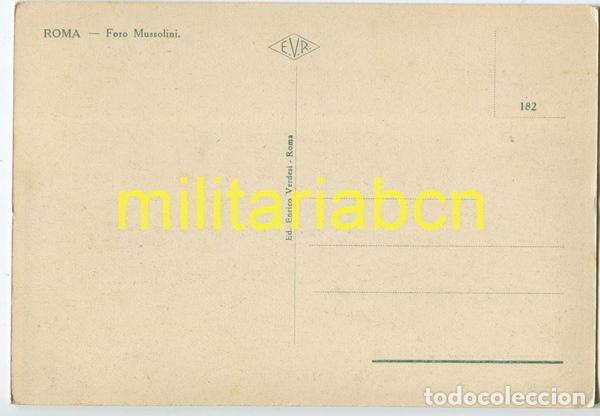 Postales: Italia. Postal del Foro Mussolini. Época Fascista. - Foto 2 - 126001427
