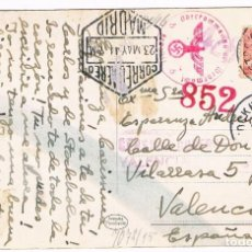 Postales: TARJETA POSTAL DIVISIÓN AZUL 1944. Lote 132503878