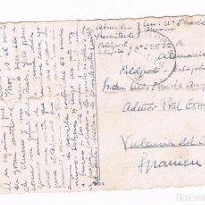 Postales: ALEMANIA VALENCIA 1941 TARJETA DIVISIÓN AZUL.. Lote 135671611