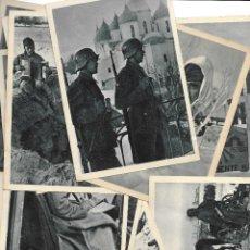 Postales: LOTE DE 22 POSTALES DE LA DIVISIÓN AZUL. Lote 138664562