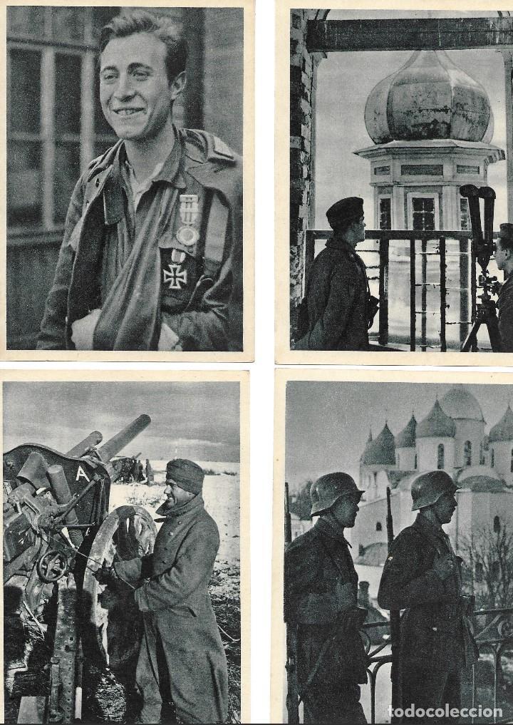 Postales: LOTE DE 22 postales de la División Azul - Foto 6 - 138664562