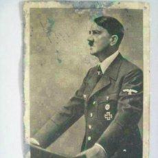 Postales: POSTAL DE HITLER CON CITA DE AGRADECIMIENTO A LA DIVISION AZUL . RECUERDO DE UN DIVISIONARIO. Lote 144603574