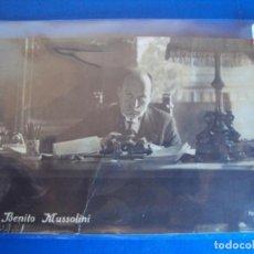 Postales: (PS-59096)POSTAL FOTOGRAFICA DE S.E.BENITO MUSSOLINI. Lote 144733974