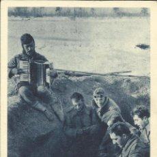 Postales: CONJUNTO DE 5 POSTALES ORIGINALES DE LA DIVISIÓN AZUL (SIN CIRCULAR). Lote 145661978