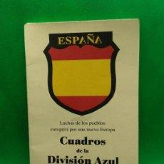 Postales: CUADROS DE LA DIVISION AZUL 12 POSTALES. Lote 153892438