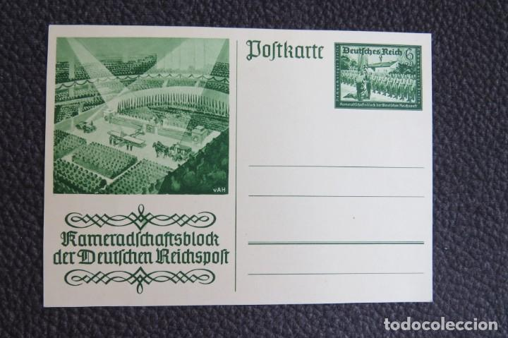 POSTAL ALEMANIA NAZI , ADOLF HITLER, II GUERRA MUNDIAL , ORIGINAL (Postales - Postales Temáticas - II Guerra Mundial y División Azul)