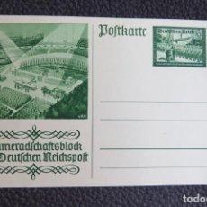 Postales: POSTAL ALEMANIA NAZI , ADOLF HITLER, II GUERRA MUNDIAL , ORIGINAL . Lote 157978418