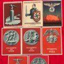 Postales: LOTE DE POSTALES REICHSPARTEITAG DEL TERCER REICH. Lote 158932162