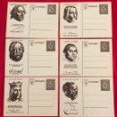 Postales: LOTE DE POSTALES WHW, PERSONALIDADES GERMÁNICAS, DEL TERCER REICH. Lote 158938070