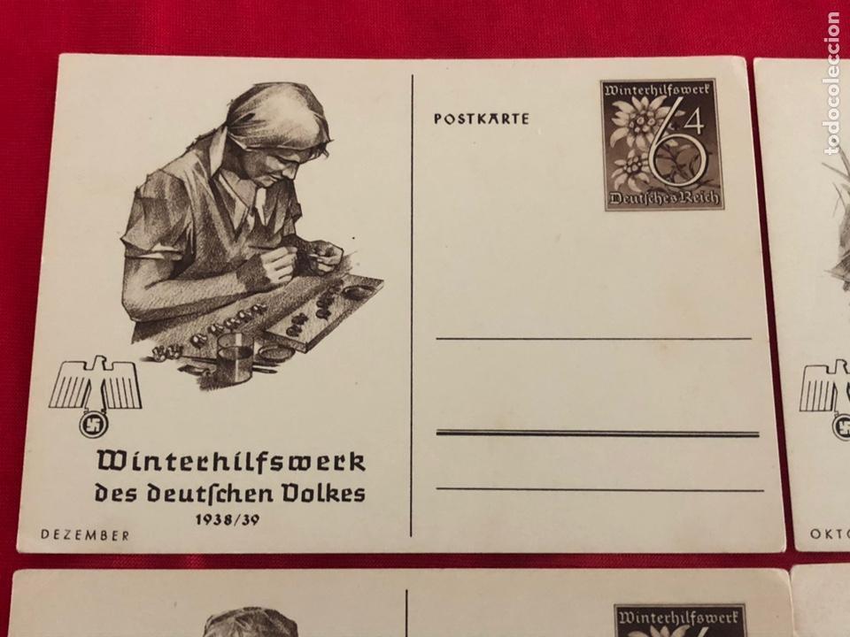 Postales: Lote de postales whw 1938/39 del tercer reich - Foto 2 - 158938810