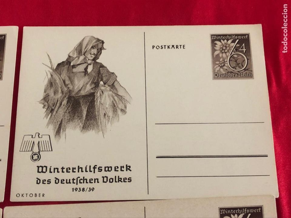 Postales: Lote de postales whw 1938/39 del tercer reich - Foto 3 - 158938810