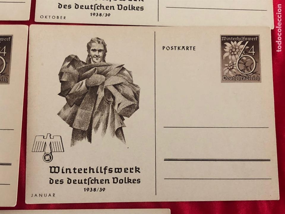 Postales: Lote de postales whw 1938/39 del tercer reich - Foto 4 - 158938810