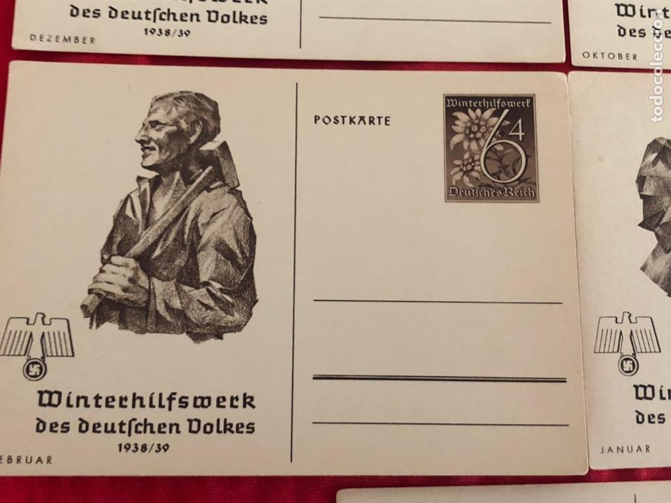 Postales: Lote de postales whw 1938/39 del tercer reich - Foto 5 - 158938810